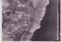 Aerial photograph of Penally Camp Pembrokeshire
