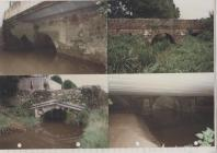 Photographs of stone bridges Penally Pembrokeshire