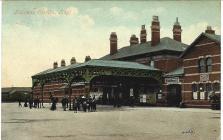 Gorsaf Reilffordd Y Rhyl 1907