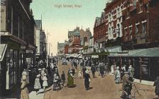 Rhyl High Street 1920s