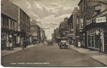 Rhyl High Street looking North 1920s