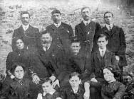 Teulu Evans, Hendrerhys, Trawscoed tua 1912