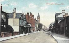 Ffordd Wellington, Y Rhyl 1908