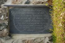 Abraham Tibbott Memorial, Anglesey