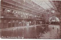 Rhyl indoor swimming baths
