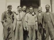 Ffotograff o Fyfyrwyr Coleg Llysfasi c.1950'au