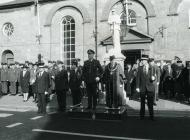 RAF ceremony, Cowbridge 1992