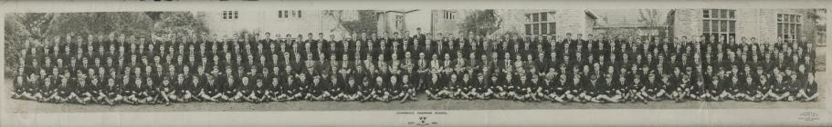 Cowbridge Grammar School photograph 1954
