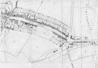 Tithe map 1843 of Eastgate, Cowbridge