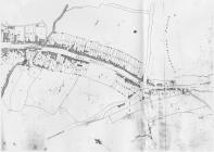 Tithe map 1843 of Eastgate and the Limes,...