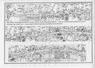 Street map of High Street, Cowbridge 1972