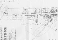 Tithe map 1843 of Westgate, Cowbridge