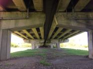 View under Cowbridge bypass 2020