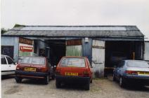 North Road, Cowbridge, garage of Pearce and...