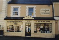 64 Eastgate, Cowbridge, Browns the printers 1998