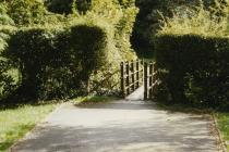 Twt play park, Cowbridge, old bridge 1997