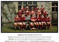 Cowbridge Grammar School rugby team 1970-71