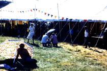 Diwrnod Heulog yng Ngharnifal Llandysul 1985