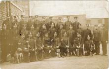 Glamorgan Constabulary Rifle Trained Policemen...