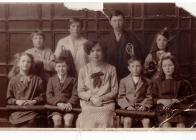 Mum (Violet Stevens) at school, Pencoed, 1920s