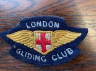 Peter Sturdgess' London Gliding Club Badge...