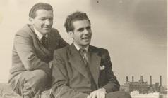 Adriano Candelori and Antonio Luzzi 1950s