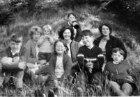 Picnic at Stapleton Castle near Presteigne 1965