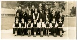 Ysgol Uwchradd Machynlleth c1957