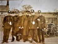 Cardiff City Police group 1930s