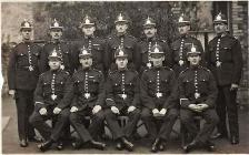 Glamorgan Constabulary group 1920's/1930&...