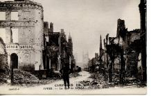14 WW1 postcards from  Belgium and France sent...