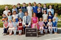 Llanfihangel y Creuddyn School - 1980's