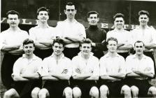 Swansea City FC team, 1950's