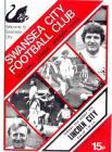 Swansea City FC programmes, 1970's