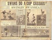 Swansea City FC programmes, newspaper cuttings