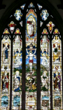 St Pauls Church in Wales WW1 Memorial Stained Glass Window's picture